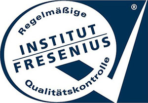 Logo of the independent German Fresenius Institute