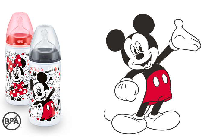 Butelka NUK First Choice+ Disney Myszka Miki 300 ml