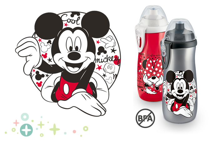 NUK Sports Cup Disney Myszka Miki 450 ml