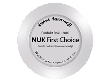 Butelki NUK First Choice