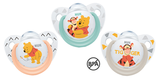 NUK soother trendline Winnie Pooh silicone