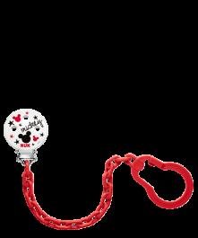 Łańcuszek do smoczka uspokajającego NUK DISNEY Myszka Miki