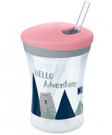 Kubek NUK Hello Adventure Action Cup 230ml