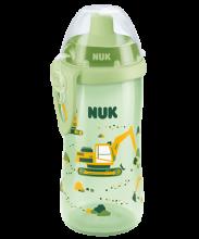 NUK Flexi Cup z silikonową słomką