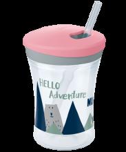 "Kubek ""niekapek"" NUK Hello Adventure Action Cup 230ml"