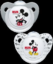 Silikonowy smoczek NUK Trendline Disney Myszka Miki