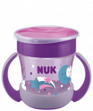 "Kubek NUK Mini Magic Cup Night ""niekapek"", 160ml"