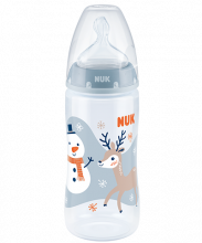 Butelka NUK First Choice Plus Snow z PP 300 ml, silikon