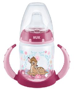 Butelka NUK Disney Classics First Choice z uchwytami, 150 ml, silikon