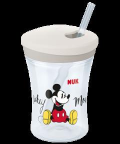 """Kubek """"niekapek"""" NUK Action Cup Myszka Miki 230ml"""