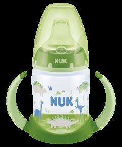 Butelka NUK First Choice z uchwytami, 150 ml, silikon