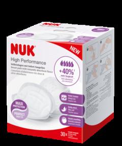 Wkładki laktacyjne NUK High Performance, 30 szt./pudełko