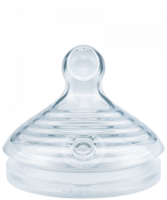 Silikonowy smoczek do butelki NUK Nature Sense