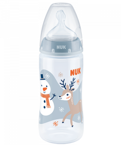 Butelka NUK First Choice Plus Snow z PP 300 ml, silikon